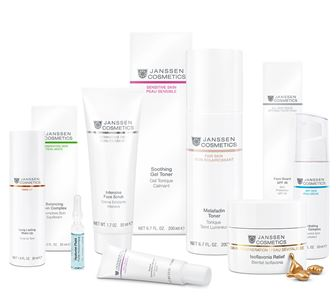 Janssen Cosmetics, Aachen, Germany, premium skincare at home