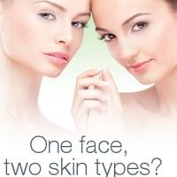 One face, two skin types - how to take care of both?