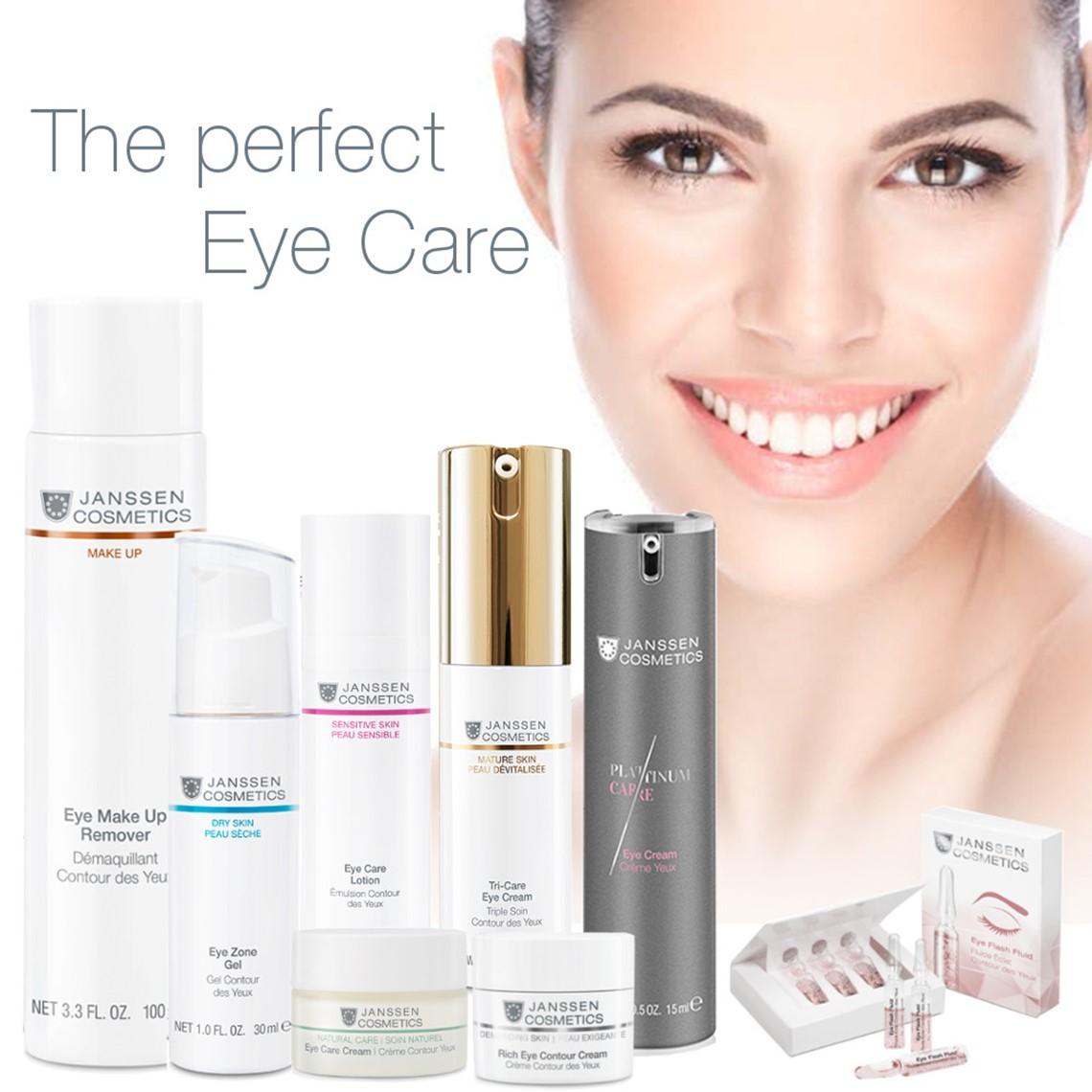 Eye Care  Janssen Cosmetics