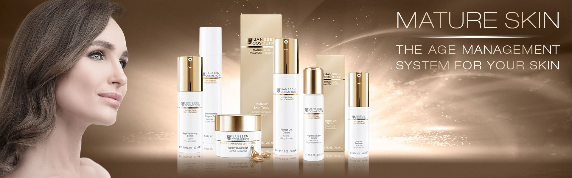 MATURE SKIN - the age management system for your skin