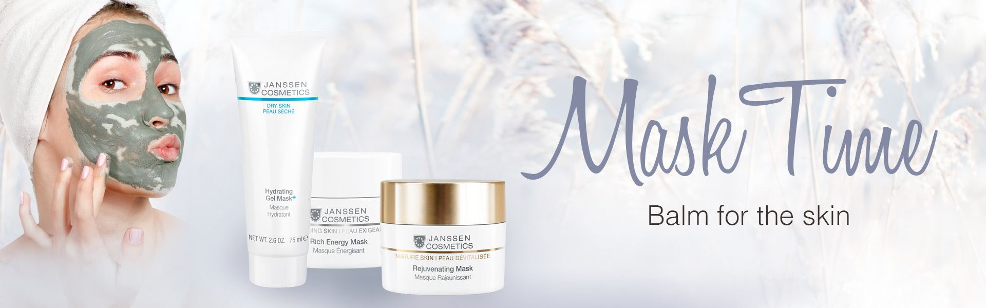 Masks - Balm for the skin
