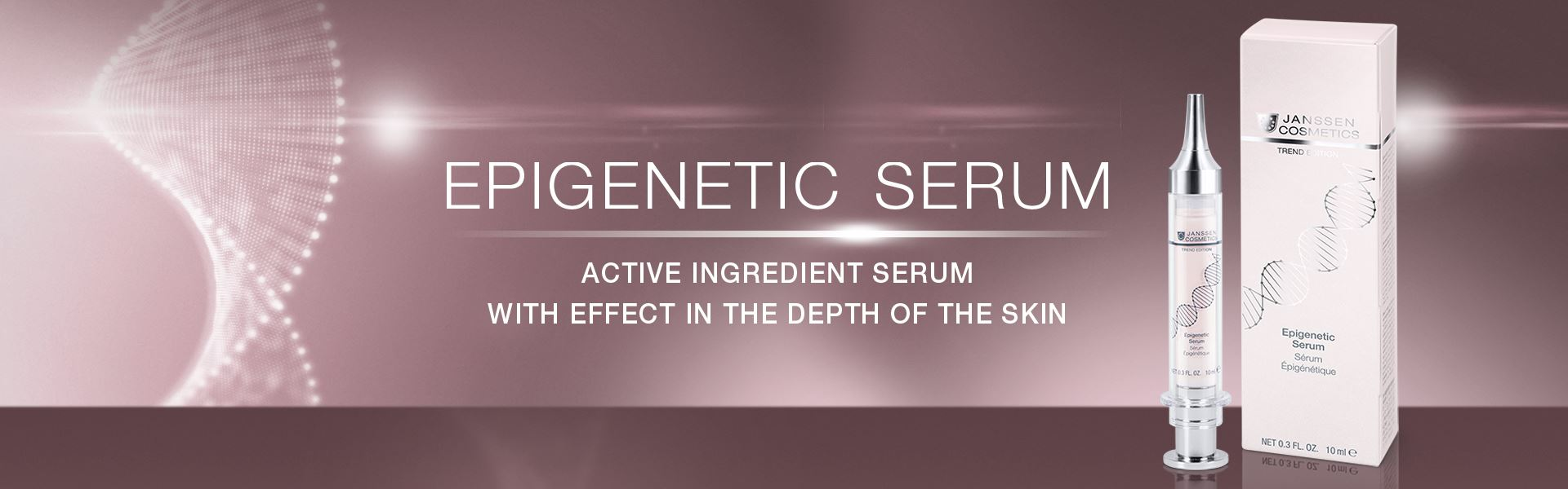 Epigenetic Serum - active ingredient serum with effect in the depth of the skin