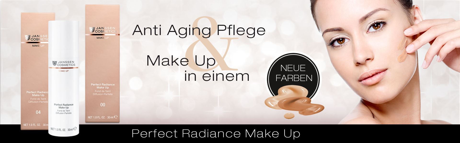 Perfect Radiance Make Up - Anti-Aging-Pflege & Make-Up in einem