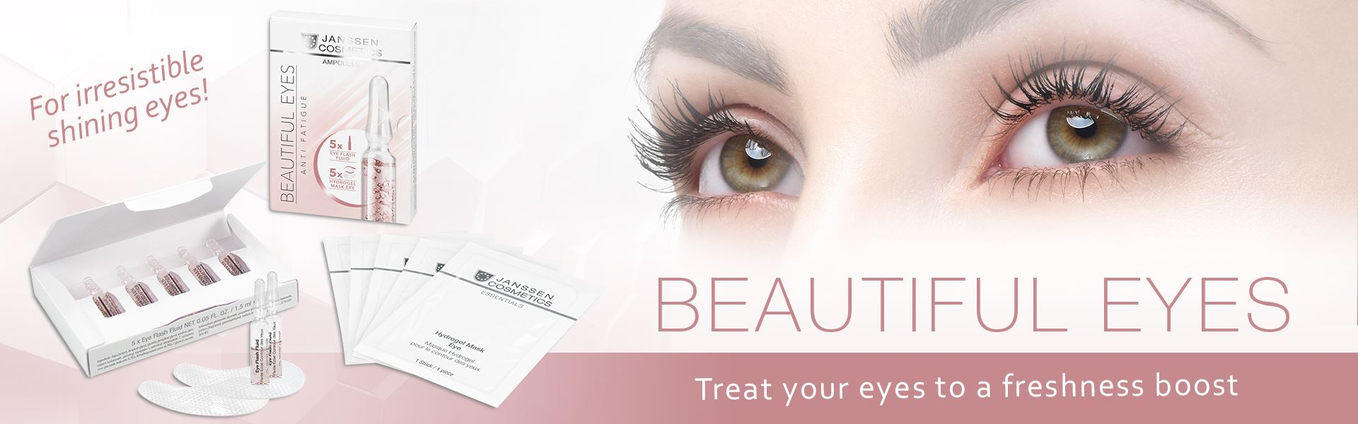 Beautiful Eyes - Treat your eyes to a freshness boost