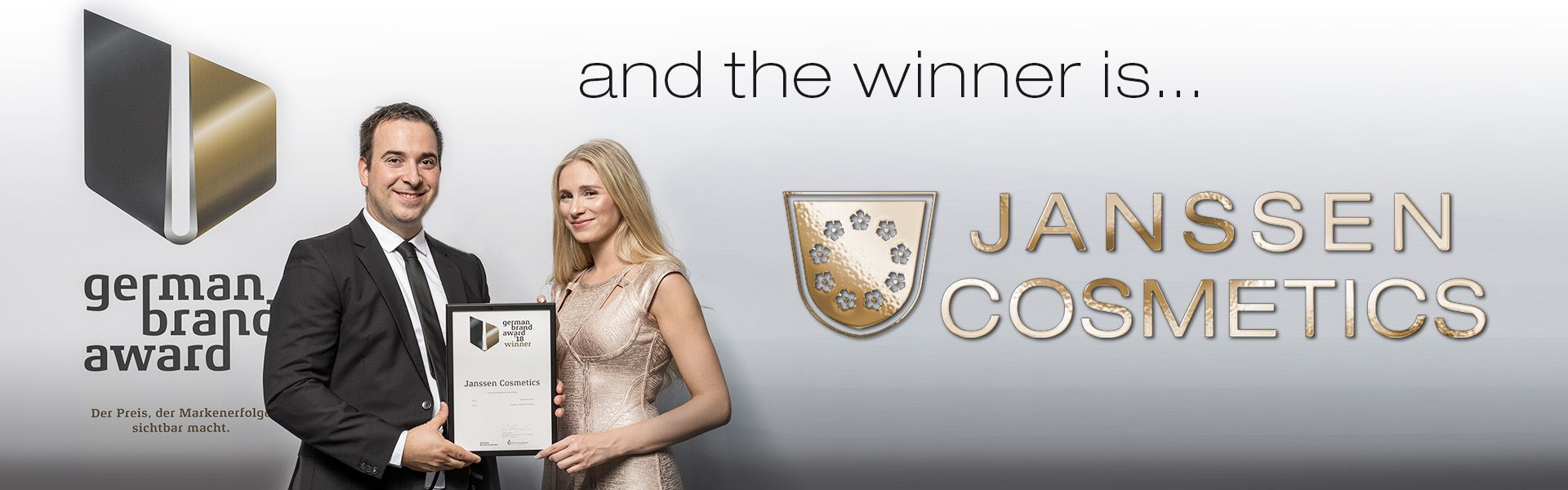 JANSSEN COSMETICS - Winner of the German Brand Award 2018