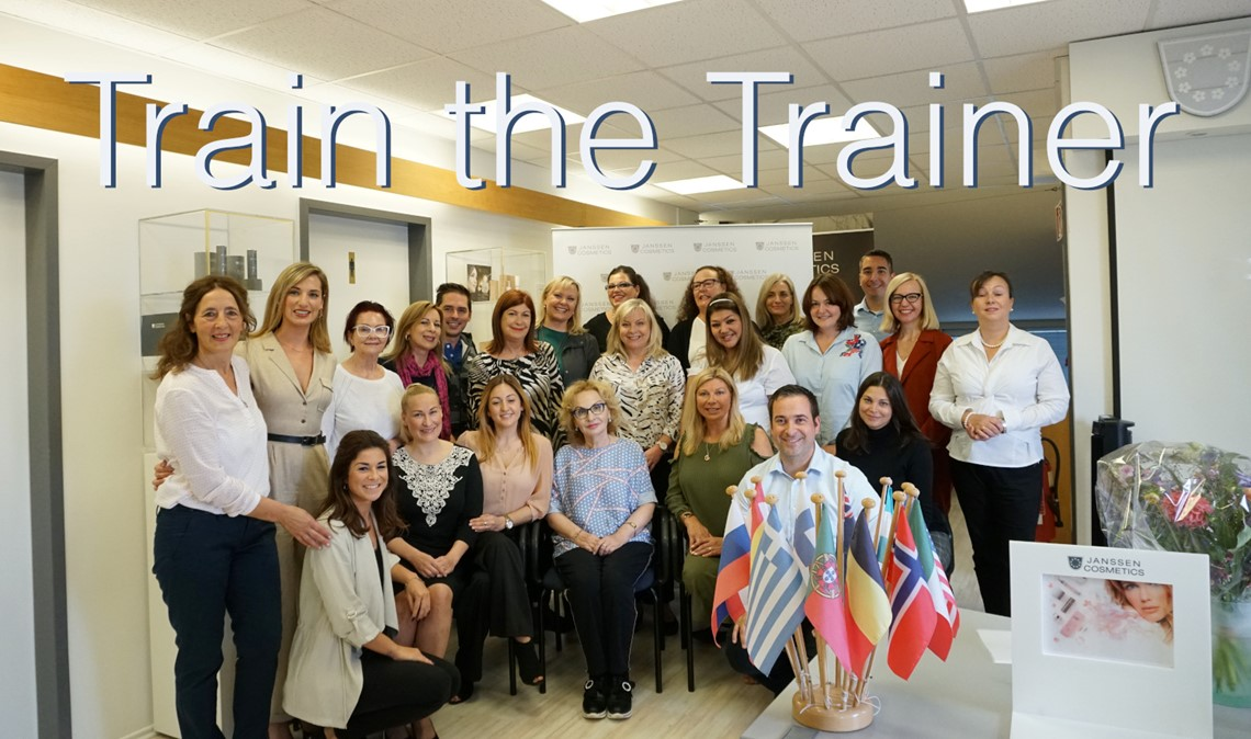 Train the Trainer at JANSSEN COSMETICS